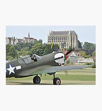 P-40M Kittyhawk G-KITT  Photographic Print