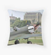 P-40M Kittyhawk G-KITT  Throw Pillow
