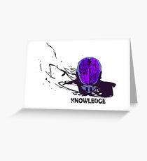 Knowledge Greeting Card