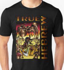 Camiseta ajustada Sansón: verdadero hebreo