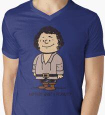 Anybody Want a Peanut? Men's V-Neck T-Shirt