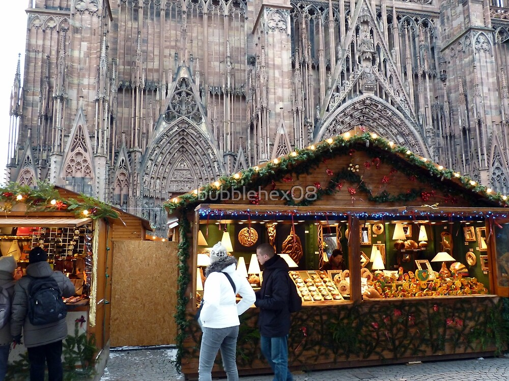 Christmas at Strasbourg (France) by bubblehex08