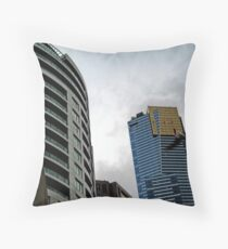 Quay West, IBM & Eureka Skydeck Buildings Throw Pillow