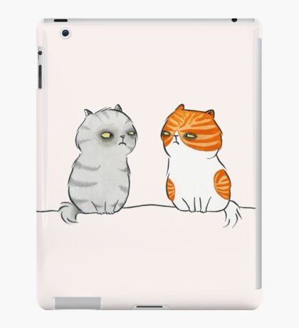 Kitty Cat Nemeses iPad Case/Skin
