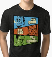 The Good, the Bad and the Rookie Tri-blend T-Shirt