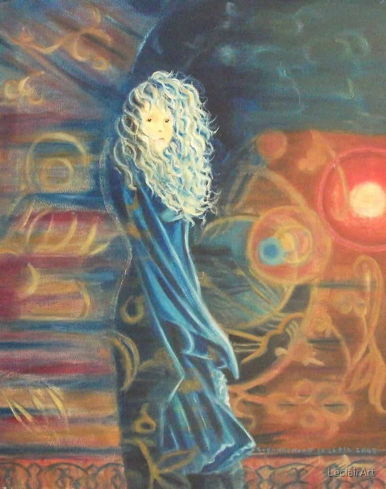 Stevie Nicks The Other Side by Suzanne Marie Leclair by LeclairArt