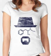The Chemist - Breaking Bad Women's Fitted Scoop T-Shirt