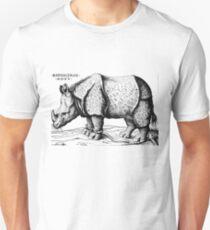 Albrecht Durer - Rhinoceros  Unisex T-Shirt