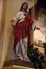 Sacred Heart of Jesus - St. Mary's Historical Church by John Schneider