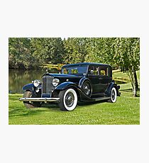 1933 Packard Sedan Photographic Print