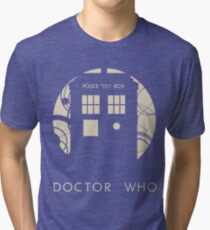 Doctor Who Poster Tri-blend T-Shirt