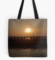 Down the beach Tote Bag
