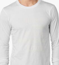 Haunt You Like A Phantom Limb White Text Long Sleeve T-Shirt