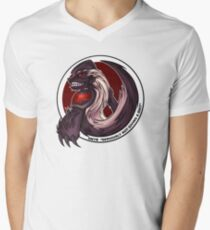 The Honeybadger Gaming Community Logo Men's V-Neck T-Shirt
