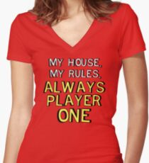 House Rules Women's Fitted V-Neck T-Shirt