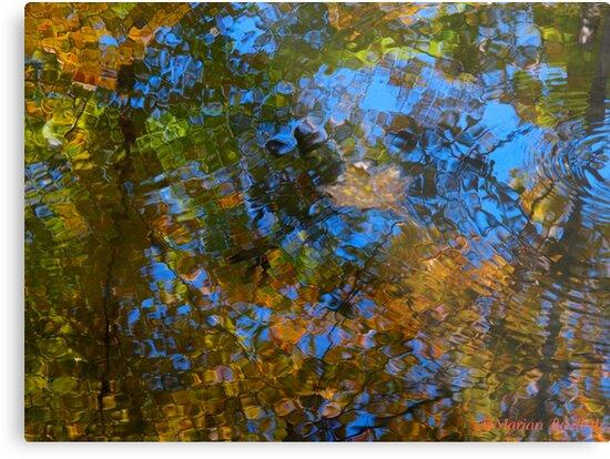 River mosaic by MarianBendeth
