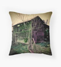 Rotting Throw Pillow
