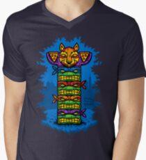 Totem-lly Radical Mens V-Neck T-Shirt