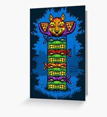 Totem-lly Radical Greeting Card