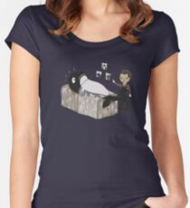 Serial Killer Whale Women's Fitted Scoop T-Shirt