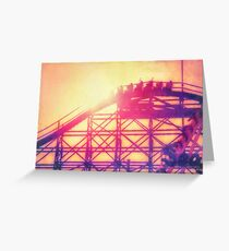 Adrenaline Rush Greeting Card