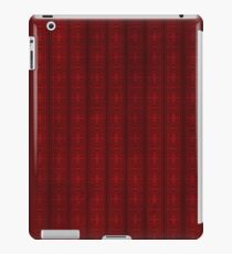 Red background1 iPad Case/Skin