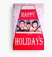 HAPPY HOLIDAYS 76 Canvas Print