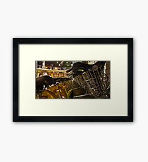 CityCycle Station @ King George Square Framed Print