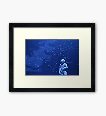 Spaceman - Natural History Museum Framed Print