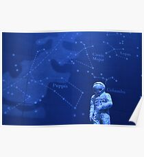 Spaceman - Natural History Museum Poster