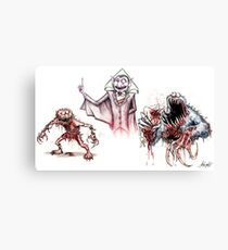 Horror Muppets Canvas Print