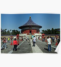 Temple Of Heaven, Beijing. Poster