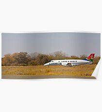 Arrival at Phalaborwa Airport  Poster