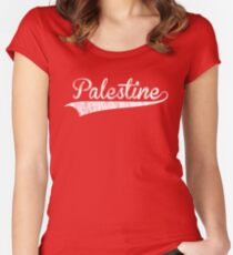 Palestine T shirts Women's Fitted Scoop T-Shirt