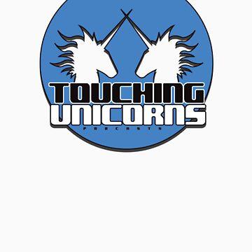 Touching Unicorns BlueLogo by Redexx