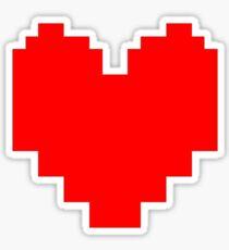 Undertale - Heart Sticker