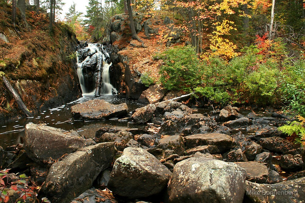 Black River Falls by Mike Sonnenberg
