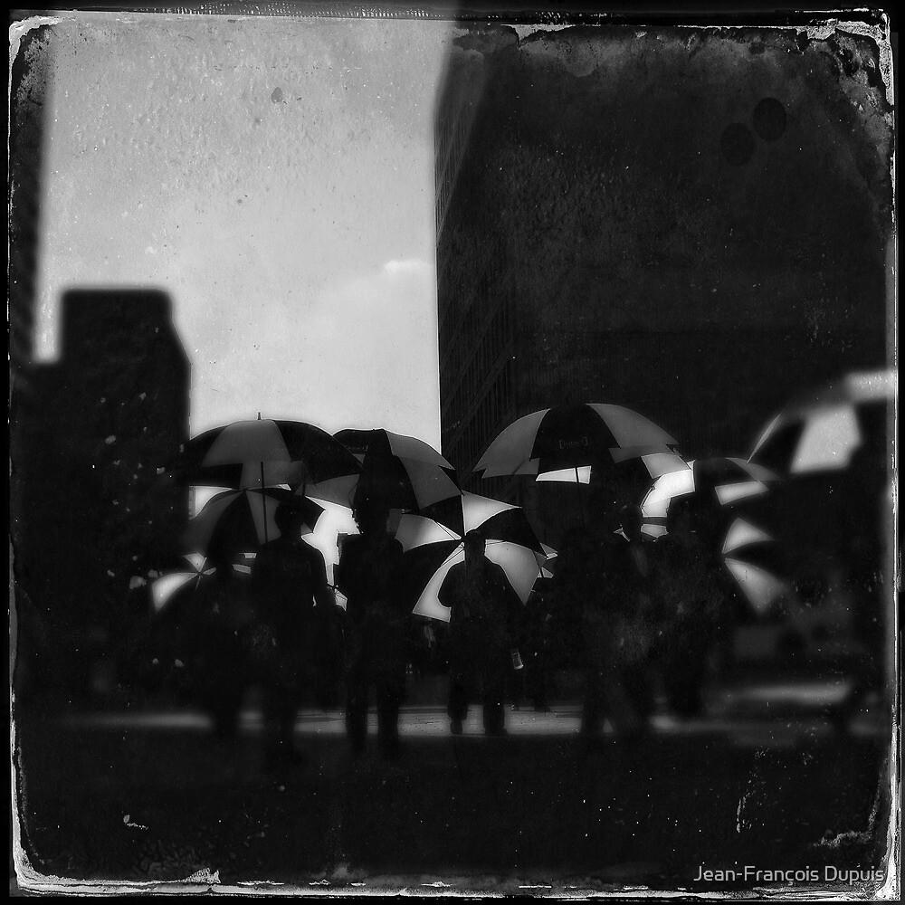 Umbrella city by Jean-François Dupuis