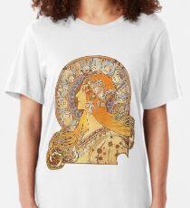 Mucha – Zodiac Slim Fit T-Shirt