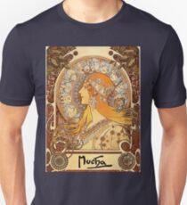 Mucha – Zodiac II Unisex T-Shirt