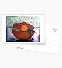 BOWL OF FRUIT Postcards
