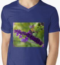Bee 2 Mens V-Neck T-Shirt