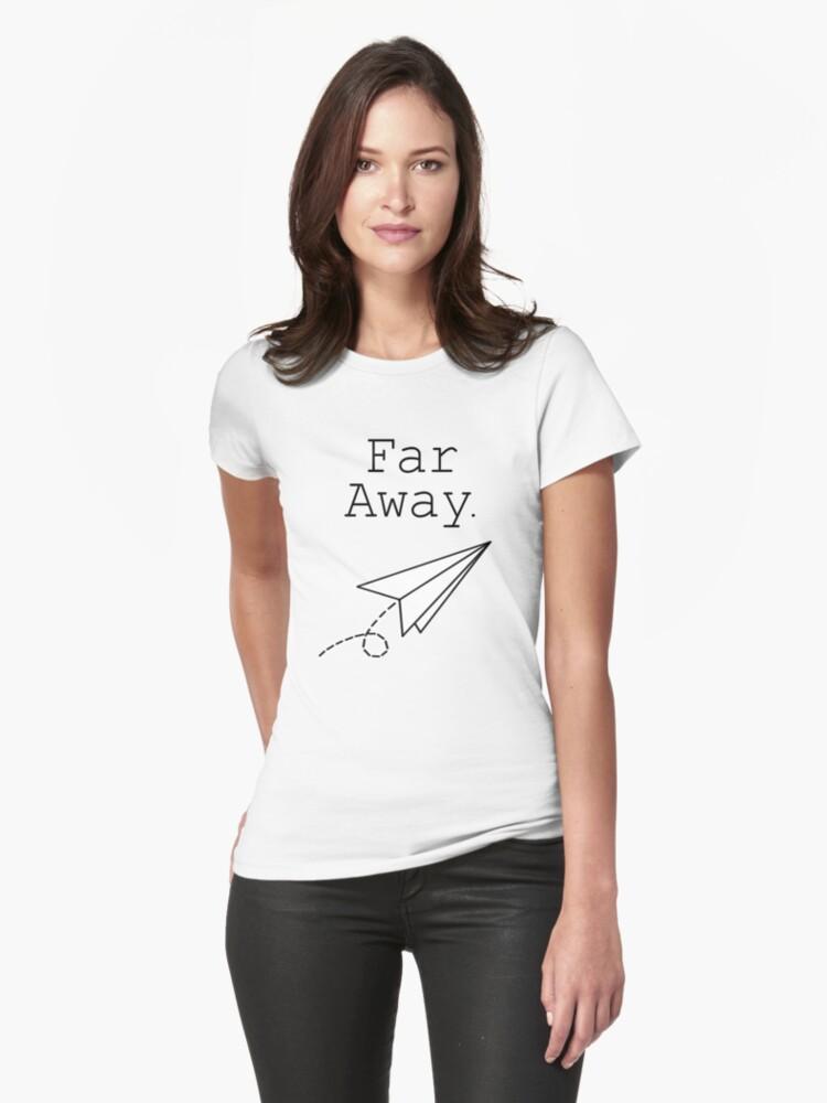 Far Away - Louis Tomlinson Womens T-Shirt Front