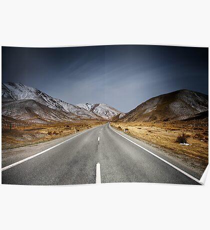 Destination - Lindis Pass Poster
