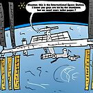 Int'l Space Station Caricature by Binary-Options