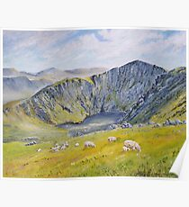 Springtime on Cader Idris. Poster