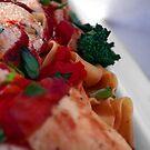 Mozzarella & Sundried Tomato Stuffed, Prosciutto Wrapped Chicken. by David Mellor
