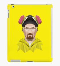 Walter White in Lab Gear iPad Case/Skin