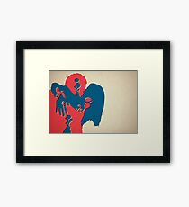 When Two Become One - Kiss Framed Print