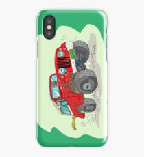 Jeepster Commando C101 cartoon (2) iPhone Case/Skin